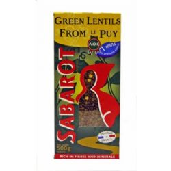 Sabarot Puy Lentils 500g | AOC | Buy Online | Food & Ingredients | UK | Europe